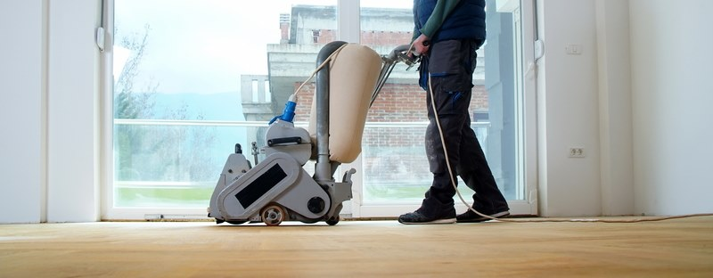How long does it take to sand a floor?