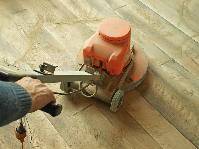 Dust-Free Sanding vs Normal Floor Sanders